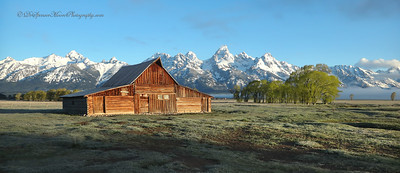 Mormon Barn #2, Grand Tetons NP
