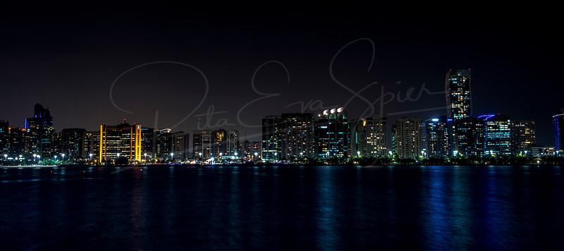 Along the Corniche