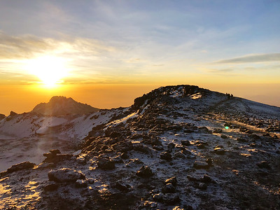 Kili summit plateau