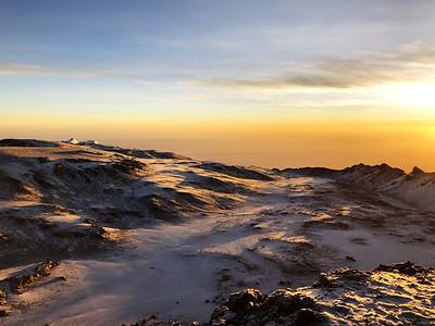Kilimanjaro caldera