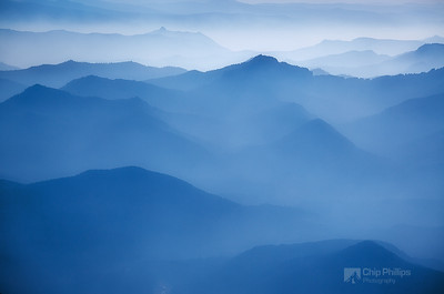 """Distant Hills From Muir""  Shot from up at Camp Muir on Mount Rainier."