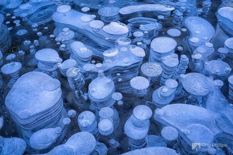 """Ice Bubble Abstract#1""