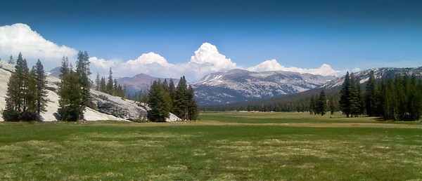 Tuolumne Meadows Yosemite National Park image made with iPhone 3