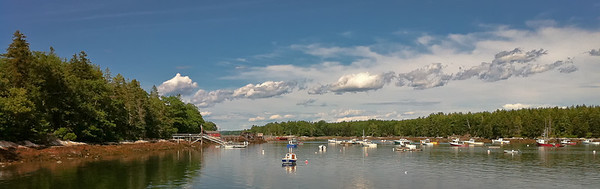 Harbor Channel Bremen, ME 7/17/11