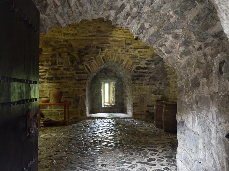 Donegal Castle storeroom