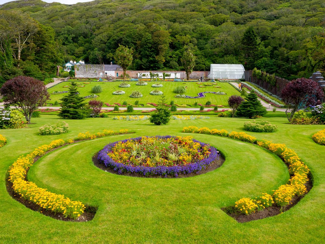 Kylemore Abbey Garden
