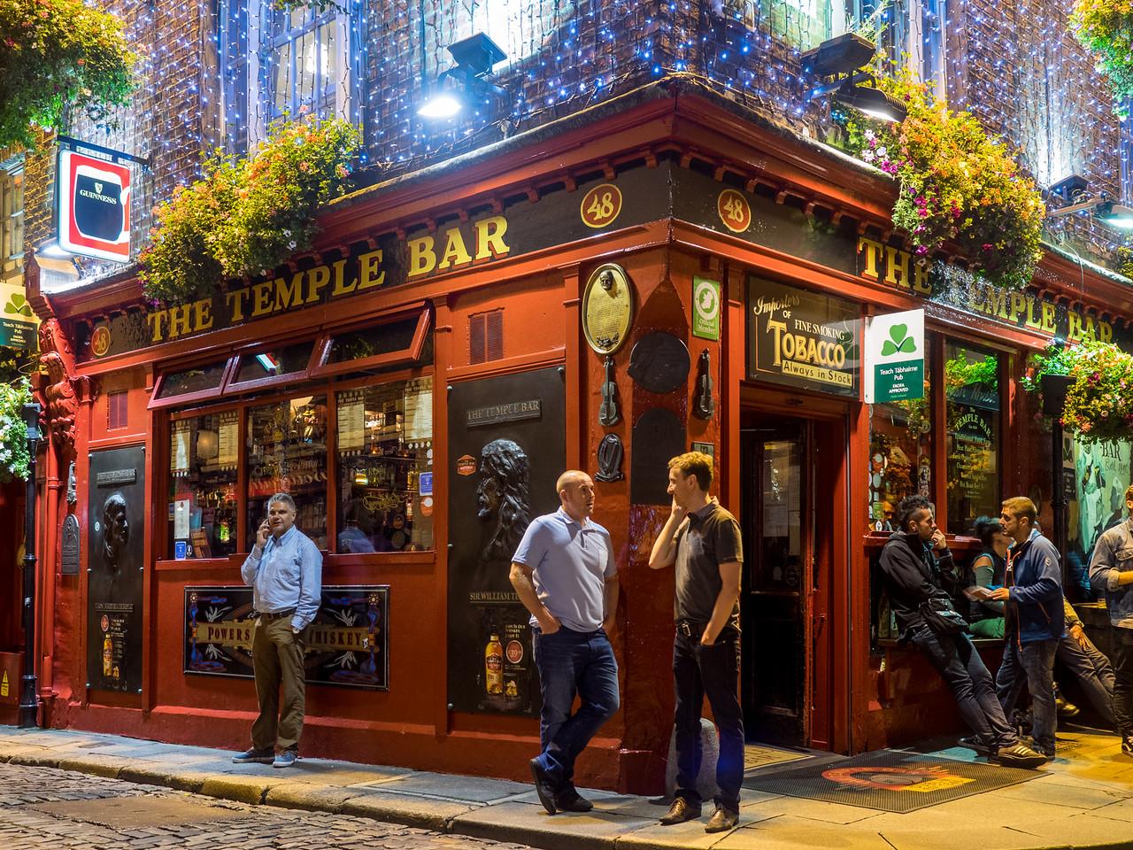 The temple bar – Dublin