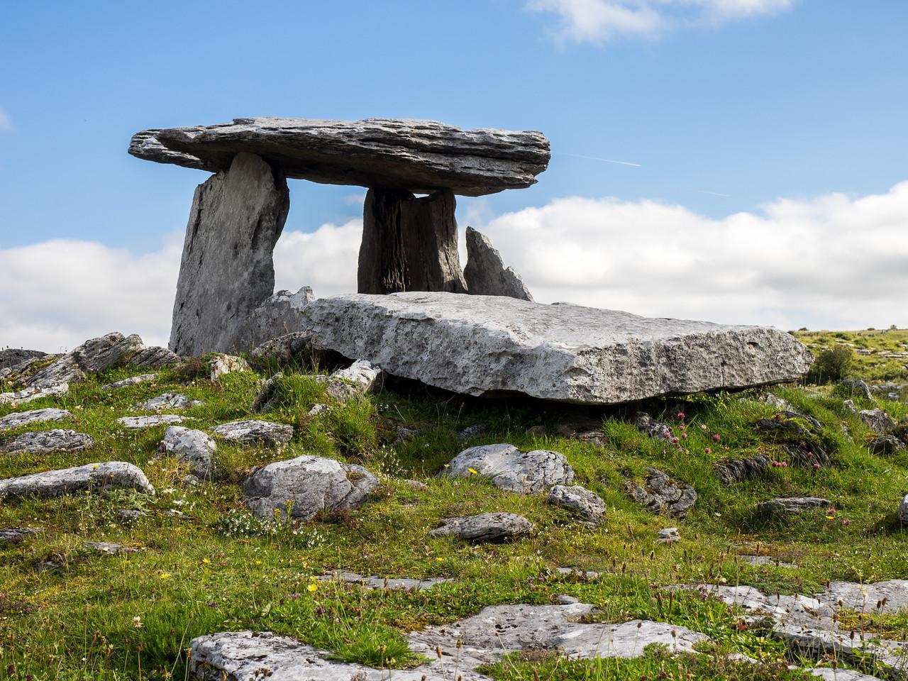 Poulnabrone Dolmen, The Burren National Park