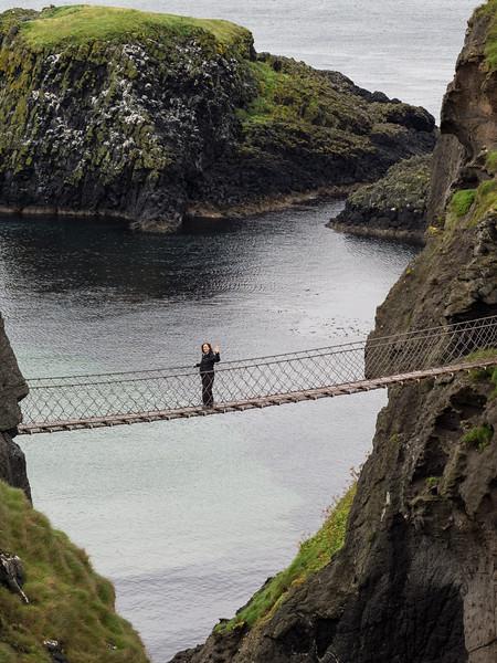 Carrick -A-Rede  rope bridge