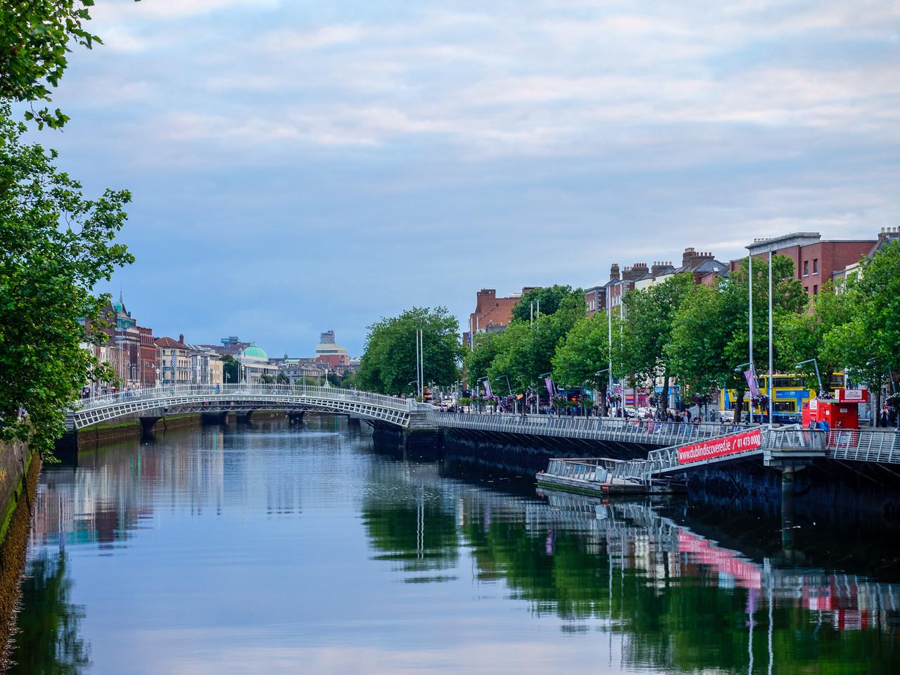Dublin – the River Liffey