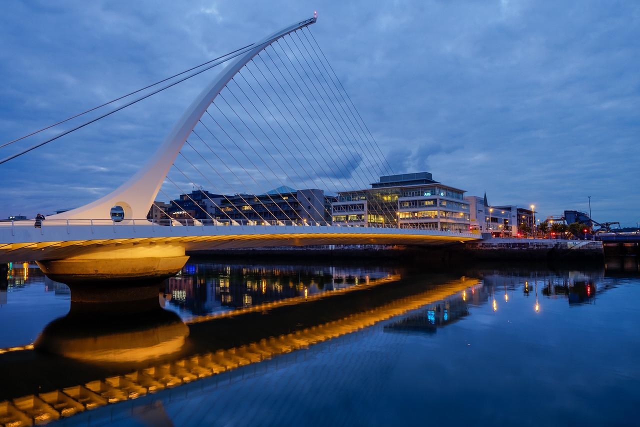 Dublin – the Samuel Beckett bridge