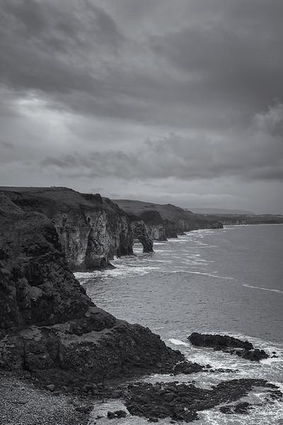 Dunluce arch view