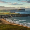 First view of  the Antrim coast