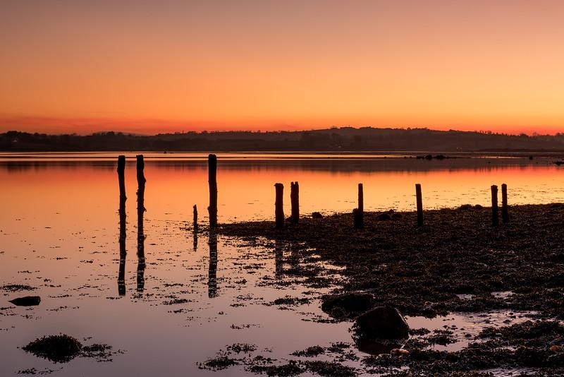 Island Hill sunset