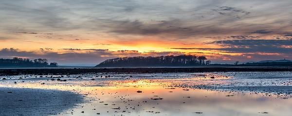 Greyabbey sunset