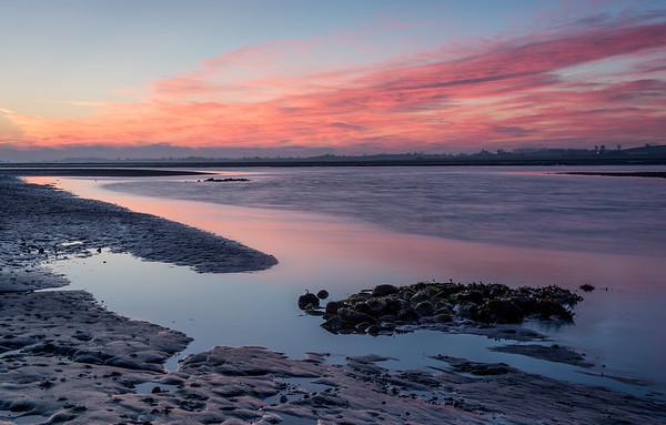 Enler river sunrise