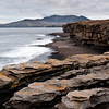 Muckross Head, Donegal looking towards Slieve League.<br /> The sunset that didn't happen!
