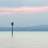 Belfast Lough marker post