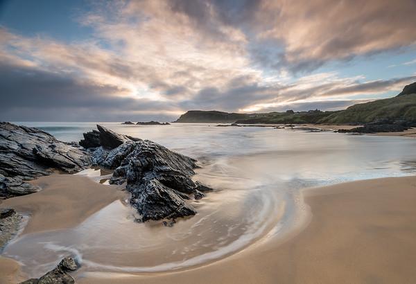 Incoming tide, Culdaff