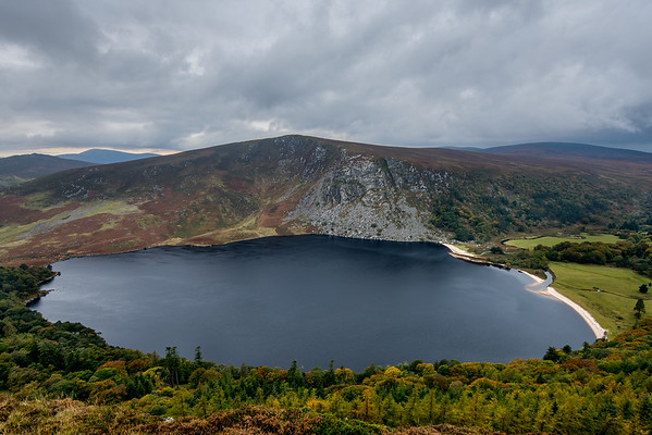 Lough Tay, Wicklow Mountains