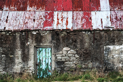 green door - keel - achill island