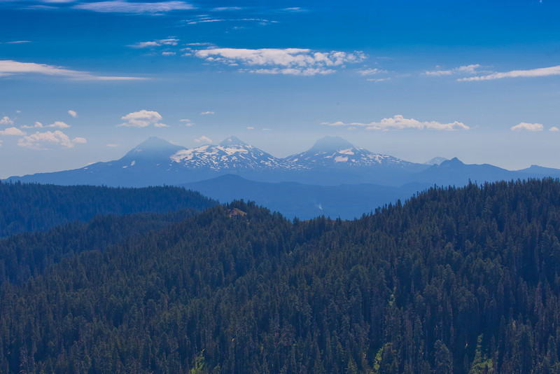 Iron Mountain, Iron Mountain Trail, Oregon - Three Sisters to the East