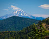 Iron Mountain, Iron Mountain Trail, - Mount Jefferson to the North