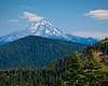 Iron Mountain, Iron Mountain Trail, - Mount Jefferson to the North
