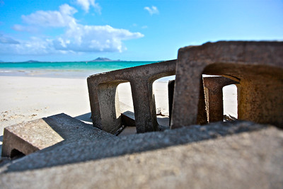 Blocks on the Beach