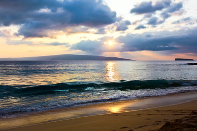 Maui Sunset at Big Beach
