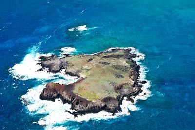 Aerial island view II