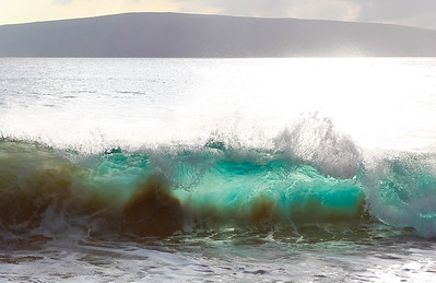 Wave at Big Beach, Maui