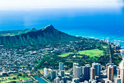 Diamond Head and Waikiki