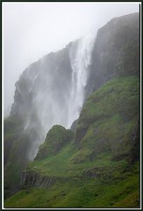 Waterfall during Rain