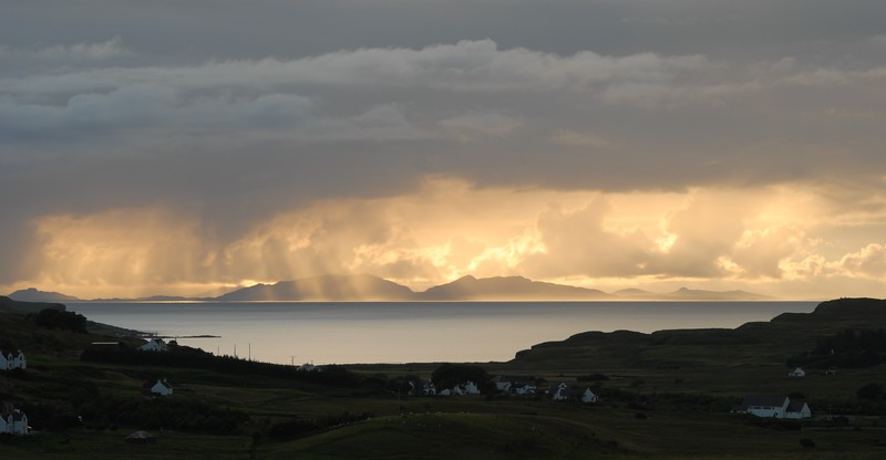 North Uist from Glendale, Skye, Scotland.