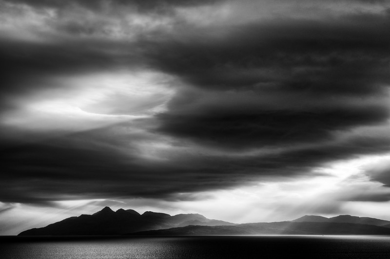 Rum Island from Elgol, Isle of Skye