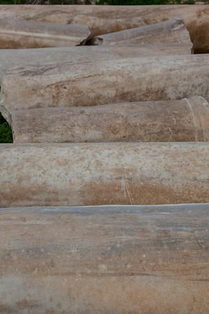 Caesarea - excavated columns