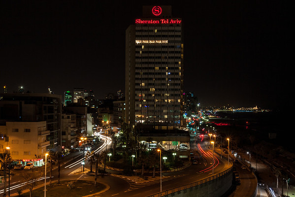 Night-time Tel Aviv