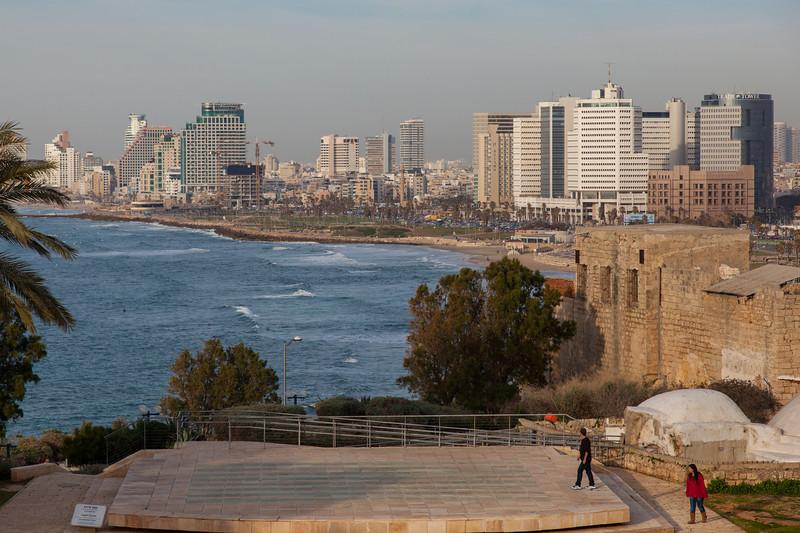 Tel Aviv from Jaffa/Joppa