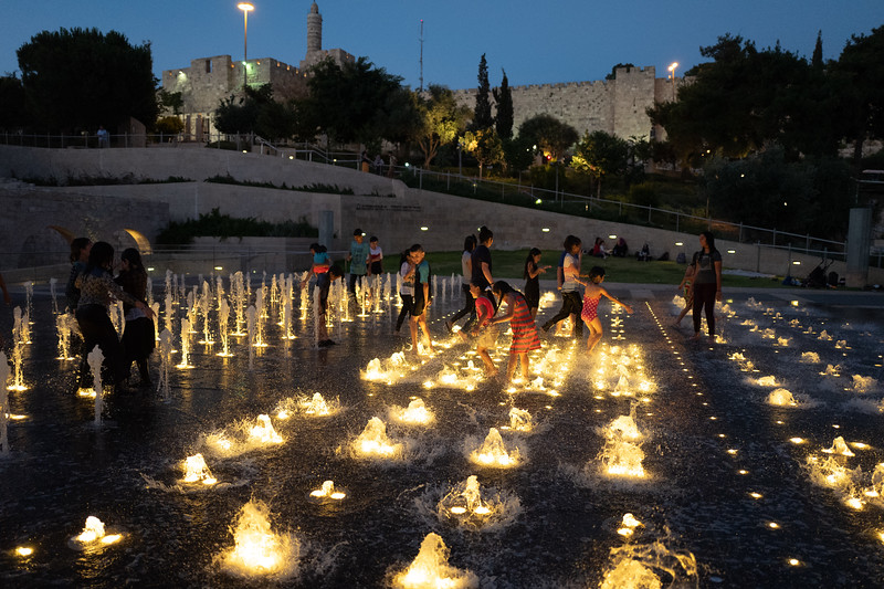 Light and Water Show - Park Teddy, Jerusalem