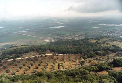 Israel. Valley of Jezreel.