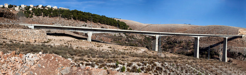 Akabara Bride, near Zefat, highest bridge in Middle East