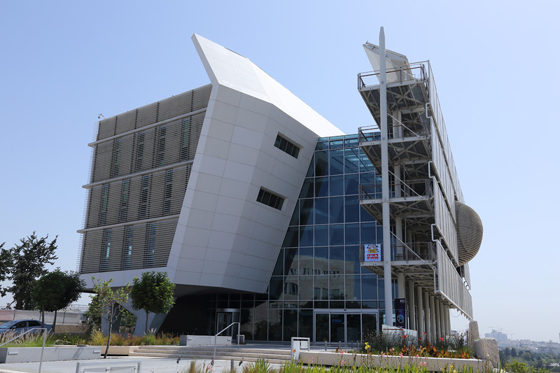 Environmental Studies Building in Tel Aviv University