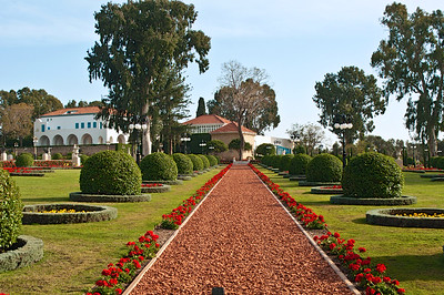 Bahai Gardens near the city of Acre, Israel