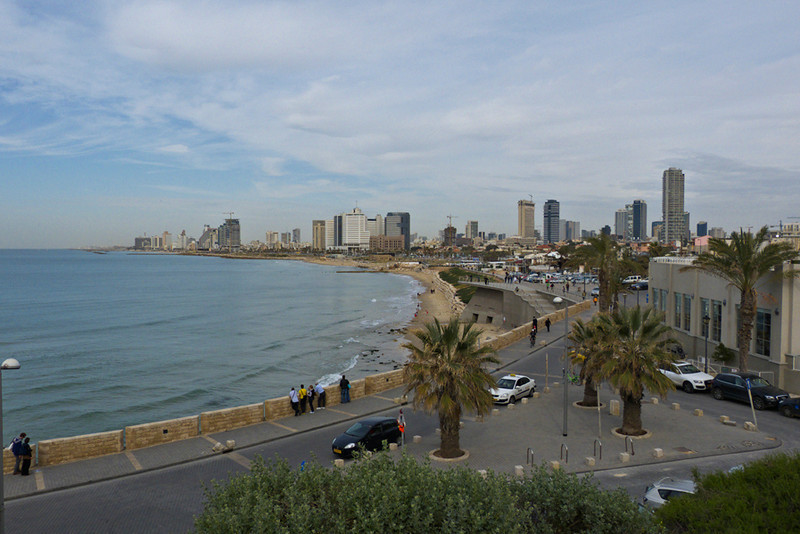Tel Aviv seen from Yaffo