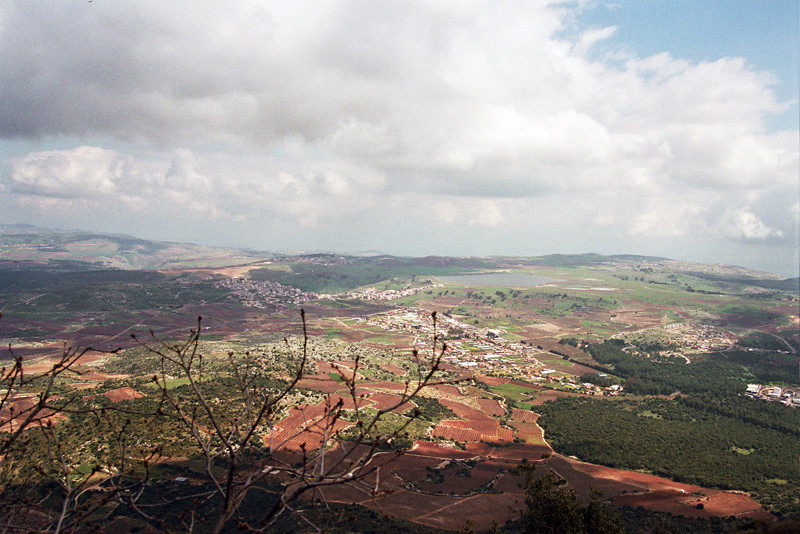 view from Meron Mountain area