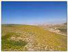 """Yellow Blue Brown and Green.<br /> the edge of the Judea desert on spring time.<br /> Looking from the """"good Samaritan"""" area towards Jericho.<br /> <br /> Olympus E-300"""