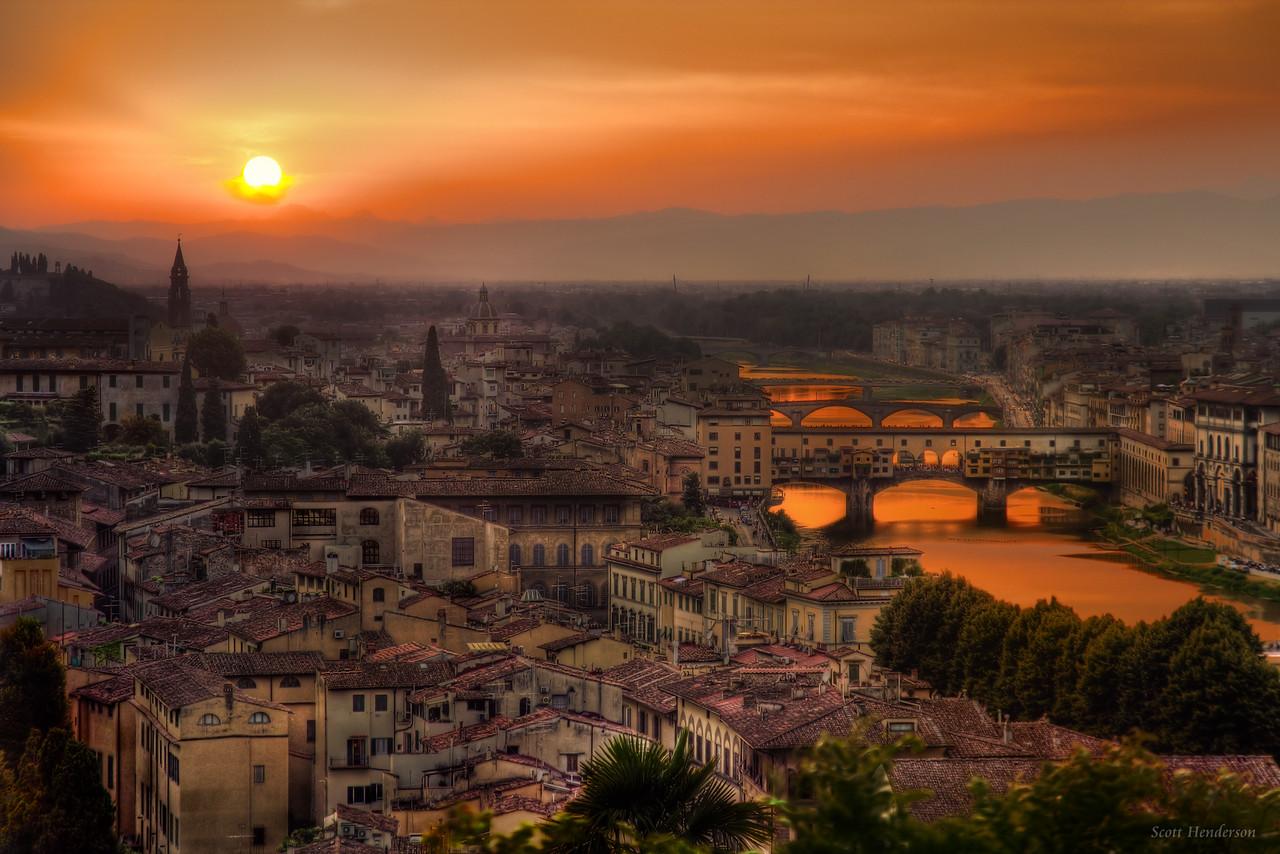 Fire Over Firenze