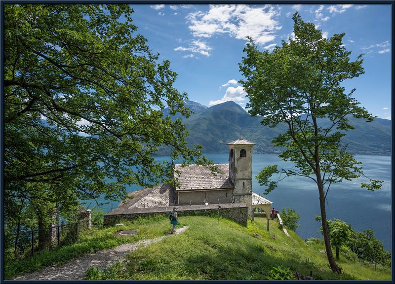 Auf dem Weg zur Bergkapelle