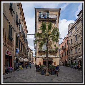In der Altstadt von Finale Ligure